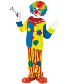 Big Clown Top Kostüm - Big Boys' Big Top Clown Costume Medium (8-10)