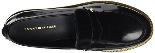 Tommy Hiliger FW56821793, Scarpe in pelle Donna Nero (Black)