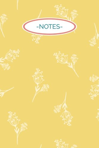 notes-6x9-journal-lined-writing-notebook-120-pages-yellow-floral-with-coral-pink-and-blue-detailing