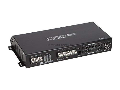 Audio System R-110.4 4-Kanal Class A/B Hochleistungs-Verstärker mit SMD Technologie (Audio Smd Car)