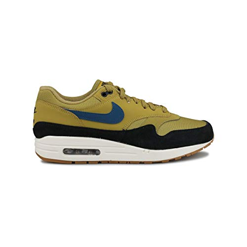 on sale 69aa6 8154e Nike AIR Max 1, Chaussures Multisport Indoor Homme, Multicolore, Bleu Noir (