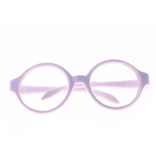 Naladoo Stylish Plastic Frame Sunglasses for 18 inch Our Generation American Girl Doll (D)