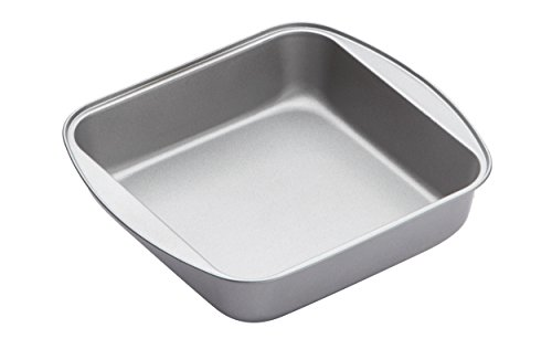 Kitchen Craft Quadratische Backform mit festem Boden, Antihaftschicht, 20,5 x 5 cm Pie Pan Fall