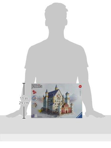 Ravensburger-12573-Schloss-Neuschwanstein-3D-Puzzle-Bauwerke-216-Teile-Puzzle