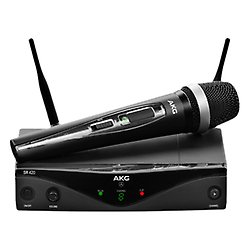 AKG wireless microphone