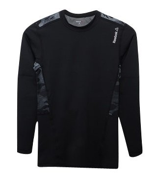 Reebok WOR Compr LO Sleeve T-Shirt pour Homme