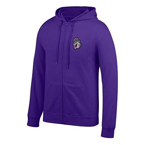 eLITe Top of The World Herren Kapuzenpullover NCAA, Herren, Men's Lightweight Full Zip Hoodie, violett, XX-Large Full Zip Screen-print Sweatshirt