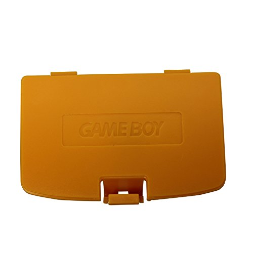 Remplacement Timorn Trappe batterie Compartiment pour Nintendo Game Boy Color (Jaune)