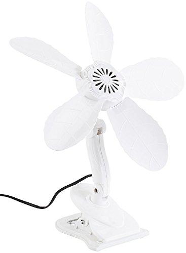 Sichler Haushaltsgeräte Klemm Ventilator: Tisch-Ventilator mit Befestigungs-Clip, 11 Watt, Ø 34 cm (Kleiner Ventilator)