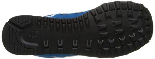 New Balance NBML574CPD Sneaker Blu (Blau (VAW BLUE/SILVER))