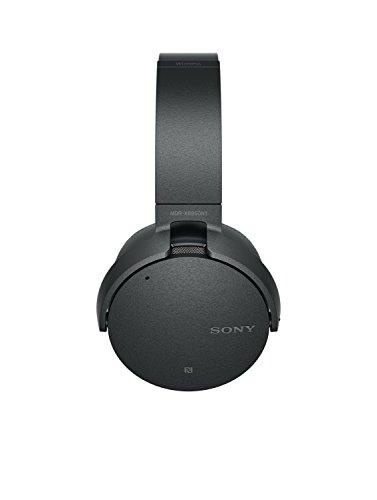 Sony MDR-XB950N1 kabelloser Kopfhörer mit Geräuschminimierung (Noise Cancelling, Extrabass, NFC, Bluetooth, faltbar) schwarz - 8