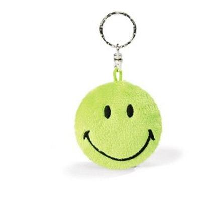 Nici Smiley 6 cm gr?ün 2D Beanbag 35869
