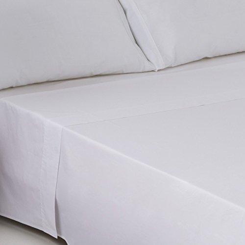 Aire Textil Sábanas HOSTELERIA - Encimera Calidad (200 Hilos) Percal 100% algodón. Cama 150 cm