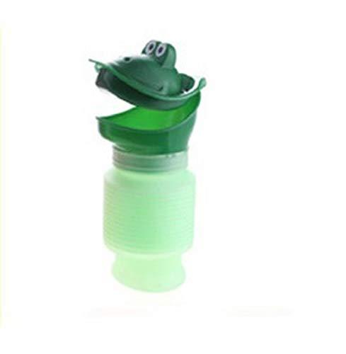 Mini orinatoio portatile di emergenza, per campeggio, viaggi, per bambini, adulti taglia unica Green