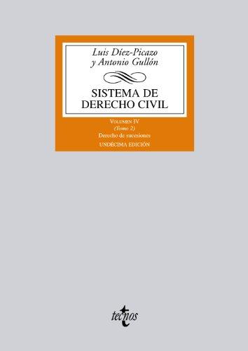 Sistema de derecho civil / Civil Justice System: Derecho de sucesiones / Law of Succession: 4