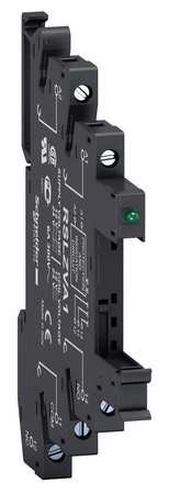 Schneider RSLZVA3 Sockel für Schmales Interface-Relais Rsl, LED, Schraubk, 110 Vac/DC -