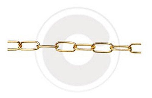 CATENA GENOVESE NICHELATA GR.10 MM.1,5 Confezione da 25ML
