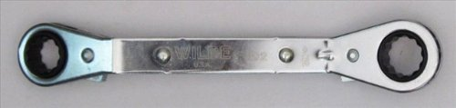 Wilde Tool 802/BB Offset Ratchet Box Wrench, 1/2-Inch x 9/16-Inch by Wilde Tool