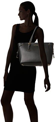 Michael Kors Voyager - Borse Tote Donna, Nero (Black), 15x26x35 cm (W x H L)