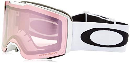 Oakley Unisex-Erwachsene Fall Line 708512 0 Sportbrille, Weiß (Matte White/Prizmsnowsapphireiridium), 99