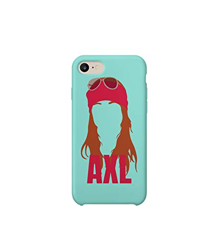 GlamourLab Axl Rose Icon Music Best Fan Shadow_R3138 Protective Case Cover Hard Plastic Compatible with for iPhone 6 Funny Gift Christmas Birthday Novelty Brüder Rose