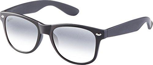 MSTRDS Likoma Mirror Unisex Sonnenbrille Für Damen und Herren mit verspiegelten Gläsern, black/silver