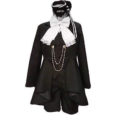 Sunkee Black Butler Cosplay Ciel Phantomhive Schwarz Partykleid, Größe XXL( Alle Größe Sind Wie Beschreibung Gesagt, überprüfen Sie Bitte Die Größentabelle Vor Der Bestellung )