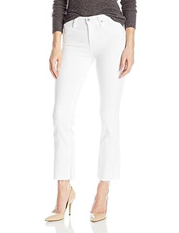 AG Adriano Goldschmied Women's the Jodi Crop Jean, White, 25