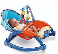 Baby Station Newborn to Toddler Portable Baby Rocker (NBT)