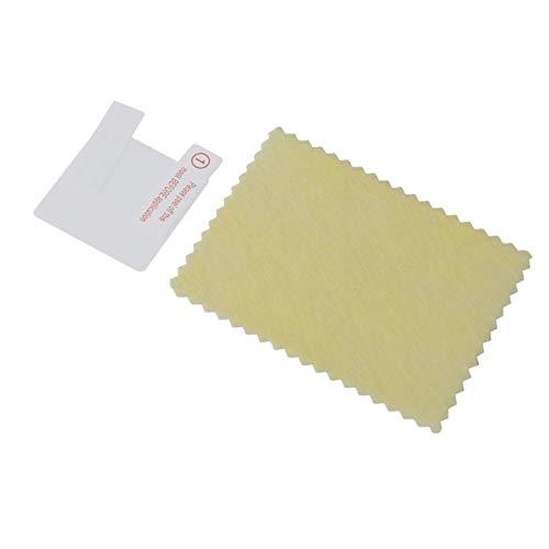 LasVogos Ultra Thin LCD-Bildschirm transparente Schutzfolie Anti-Kratzer Anti-Staub-UV-Schutz-Abdeckung für U8 Bluetooth Smart Watch (transparent)