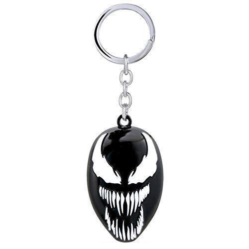 Trafford Schlüsselanhänger 100% Metall Inspiriert aus Superheld Venome