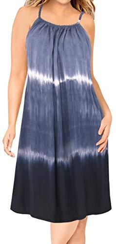 LA LEELA Frauen Badeanzug-Bikinibadebekleidung Kleid Designer Sundress Bademode verschleiern -