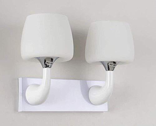 WHKHY Einfache, Moderne und Bequeme Kinderwandleuchte Lounge engagierte die Bedchamber Nachttischlampe (Stil: Einzelkopf),Doppelkopf
