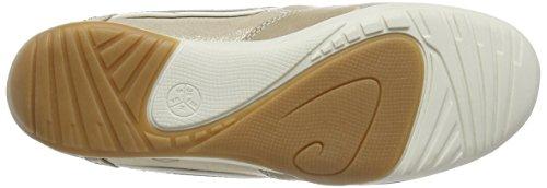 Jana 23603 Damen Sneakers Beige (BEIGE/GOLD)