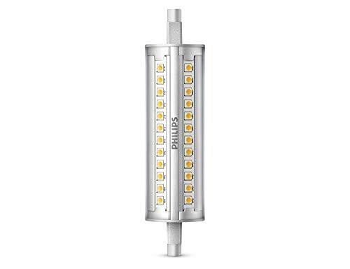 Philips Ampoule LED linéaire, culot R7s, 12W équivalent à 120W en incandescence, 2000lumens, lumière Blanche froide