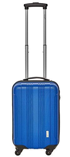 Packenger Kofferset - Torreto - 3-teilig (M, L & XL), Blau, 4 Rollen, Koffer mit Zahlenschloss, Hartschalenkoffer (ABS) robuster Trolley Reisekoffer - 6