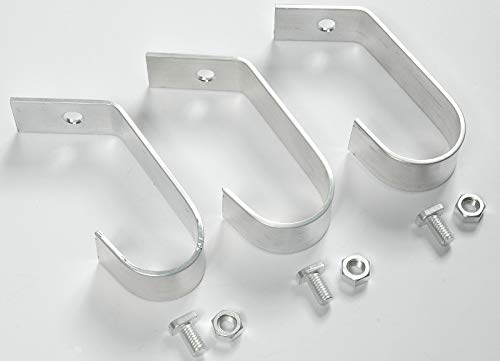 MacGreen® Gewächshaus-Alu-Stabhalter (6 Stück) - 4