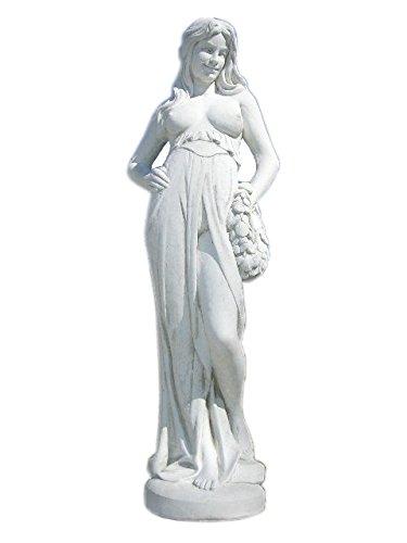 Antike Steinfigur Griechische Frauen Statue Nackte Statue Gartenfigur