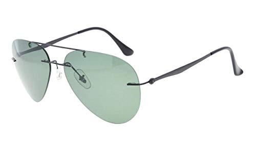 Eyekepper Randlos Titan Stil Polarisiert Sonnenbrille G15 Linse