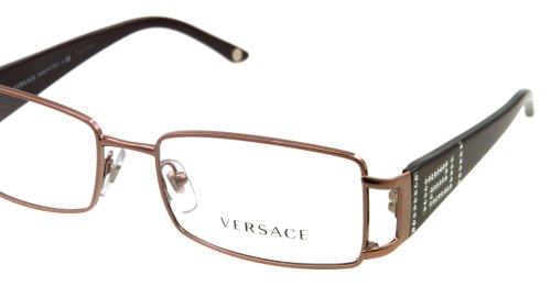 Versace Montures de lunettes 1163B Pour Femme Silver / White, 50mm 1333: Plum