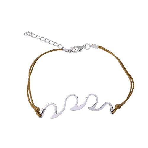 Floweworld Retro Armband Mode Einfachen Ethnischen Stil Harz Armband Weiblichen Kreativen Armband Schmuck Geschenk FüR Damen MäDchen -