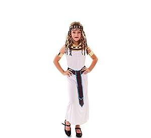 Fyasa 706505-t02egipcio disfraz de niña, tamaño mediano