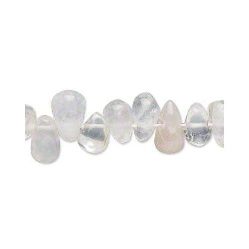 70+ Chiaro Cristallo DiRocca 5x9-8x15mm Tagliati A Mano Briolette Liscio Perline - (YF0735) - Charming Beads