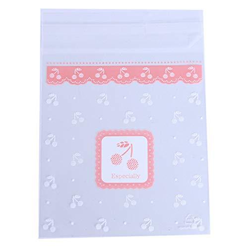 Winwinfly Clear Candy Cookie Taschen für Hochzeit Geburtstag Party Handwerk Selbstklebende Kunststoff Keks Verpackung Geschenktüte