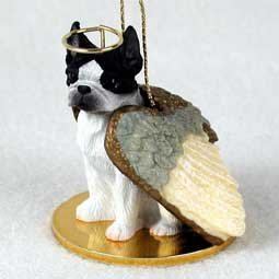 Boston Terrier Angel Dog Ornament by Conversation Concepts -