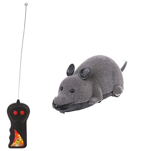 Tandou Cats interattivo elettrico giocattoli simulazione mouse telecomando Prank trick regali