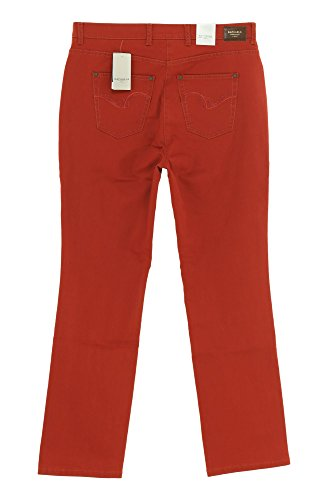 Raphaela by Brax Jeans Rosa Flame Damen Stretch Rotbraun