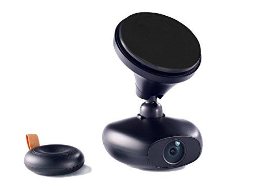 RoadEyes recSMART Connected Car Kamera, Quad HD 2K, Schwarz