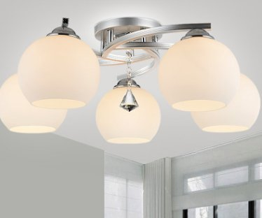 GS~LY moderno in vetro e contemporanea lampadario