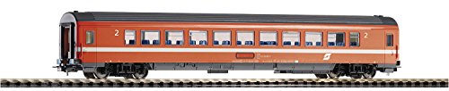 Piko 58661schnellzug Carro eurofima Clase 1, ÖBB, EP. IV, Vehículo de Carril, Naranja